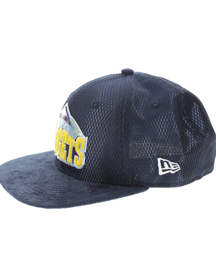 running shoes online store new product New Era Denver Nuggets 9FIFTY Original Fit On-Court Collection ...