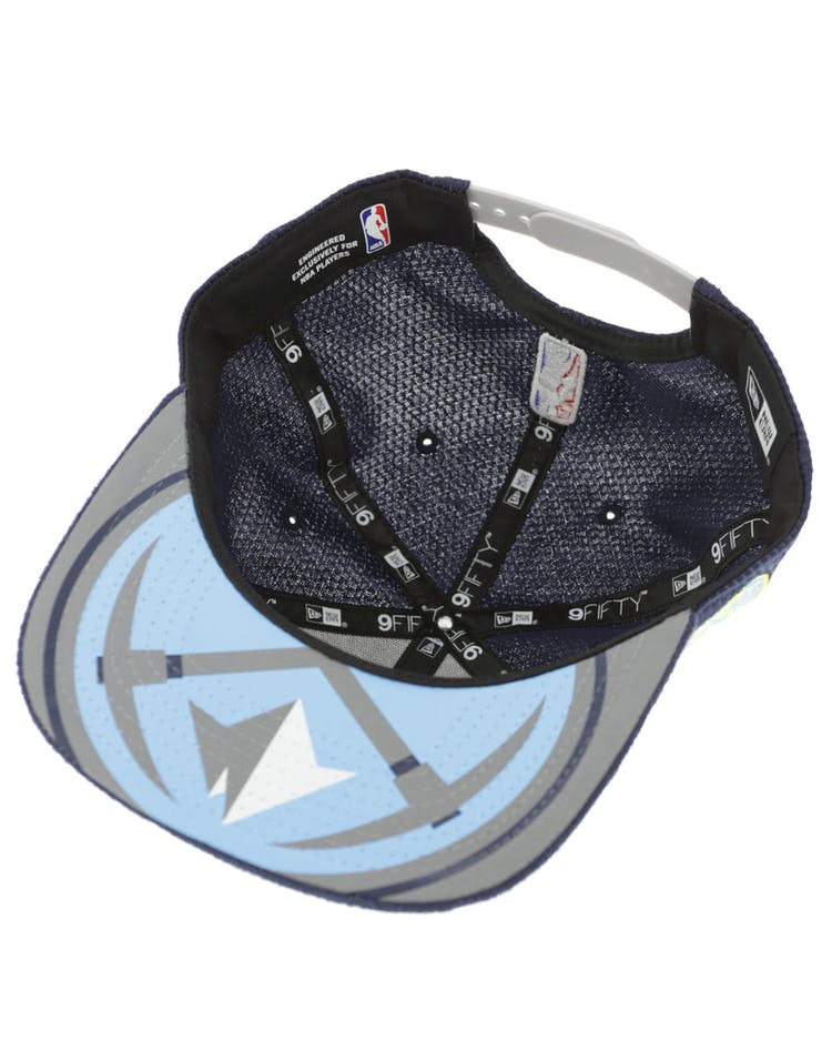 timeless design a7559 330c9 New Era Denver Nuggets 9FIFTY Original Fit On-Court Collection Draft  Snapback Navy