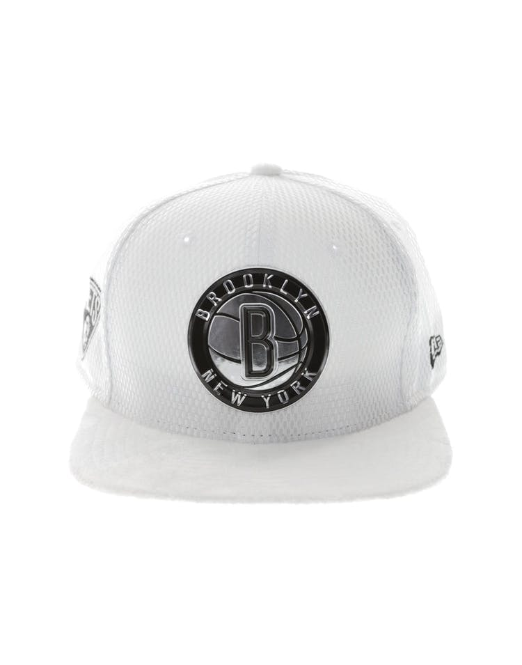 reputable site 2a313 78699 New Era Brooklyn Nets 9FIFTY Original Fit On-Court Collection Draft Sn – Culture  Kings