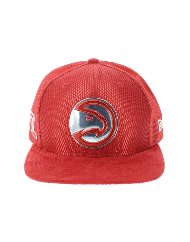 hot sales ba32c 4e16b New Era Atlanta Hawks 9FIFTY Original Fit On-Court Collection Draft Sn – Culture  Kings