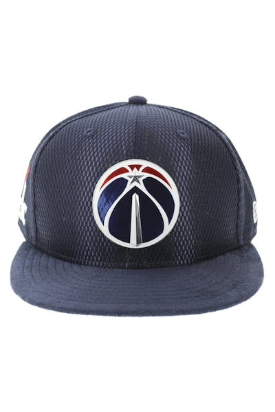 huge selection of 725f2 99211 New Era Washinton Wizards 9FIFTY On-Court Collection Draft Snapback Navy