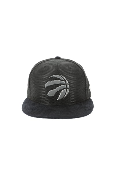 New Era Toronto Raptors 9FIFTY On-Court Collection Draft Snapback Black