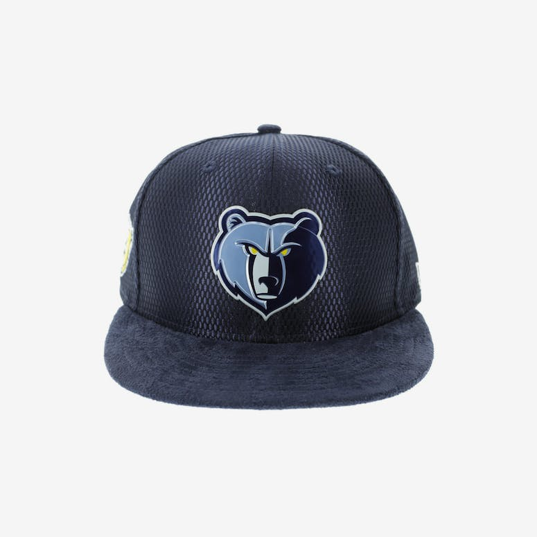 New Era Memphis Grizzlies 9FIFTY On-Court Collection Draft Snapback Navy 8bb10fe4db6
