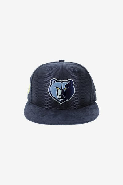 a75b0d94b9683 New Era Memphis Grizzlies 9FIFTY On-Court Collection Draft Snapback Navy