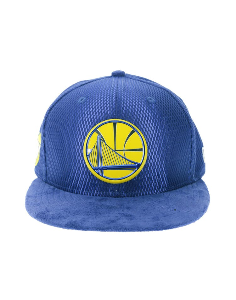 buy popular a73da 1cd0d New Era Golden State Warriors 9FIFTY On-Court Collection Draft Snapbac –  Culture Kings