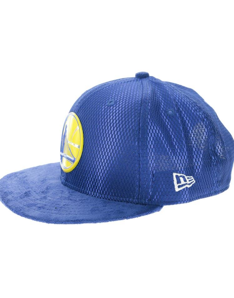 new product fb46f f4575 New Era Golden State Warriors 9FIFTY On-Court Collection Draft Snapback  Royal