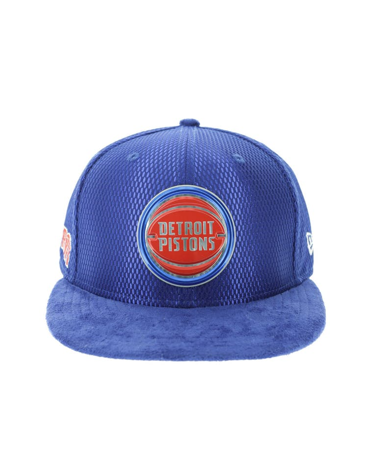 super popular 3bd53 a2fb8 New Era Detroit Pistons 59FIFTY Fitted On-Court Collection Draft Navy –  Culture Kings