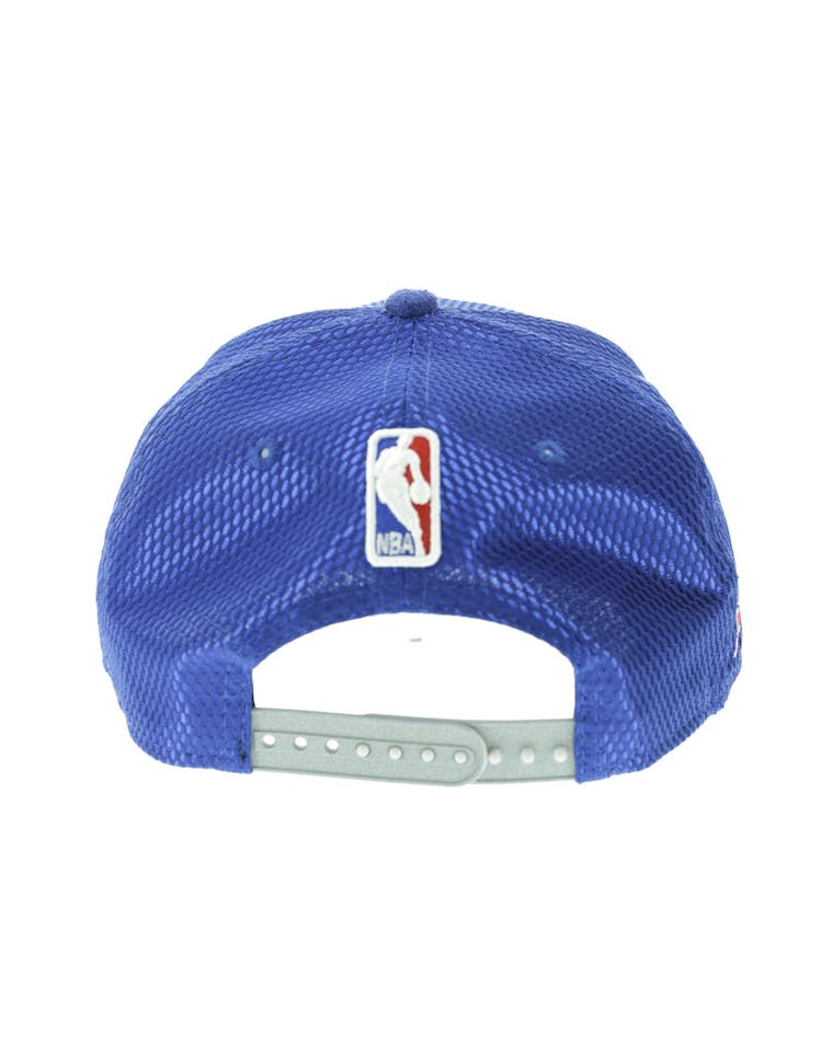 eb63150b0 New Era Detroit Pistons 59FIFTY Fitted On-Court Collection Draft Navy