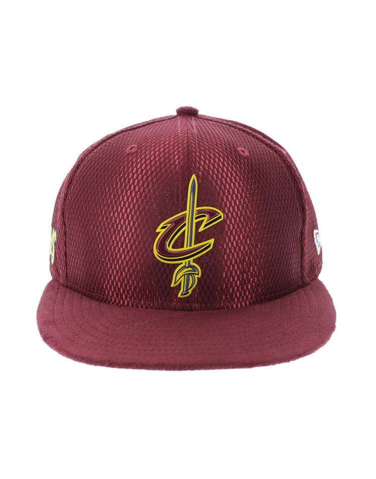 the latest 9d24c 2785e New Era Cleveland Cavaliers 9FIFTY On-Court Collection Draft Snapback –  Culture Kings