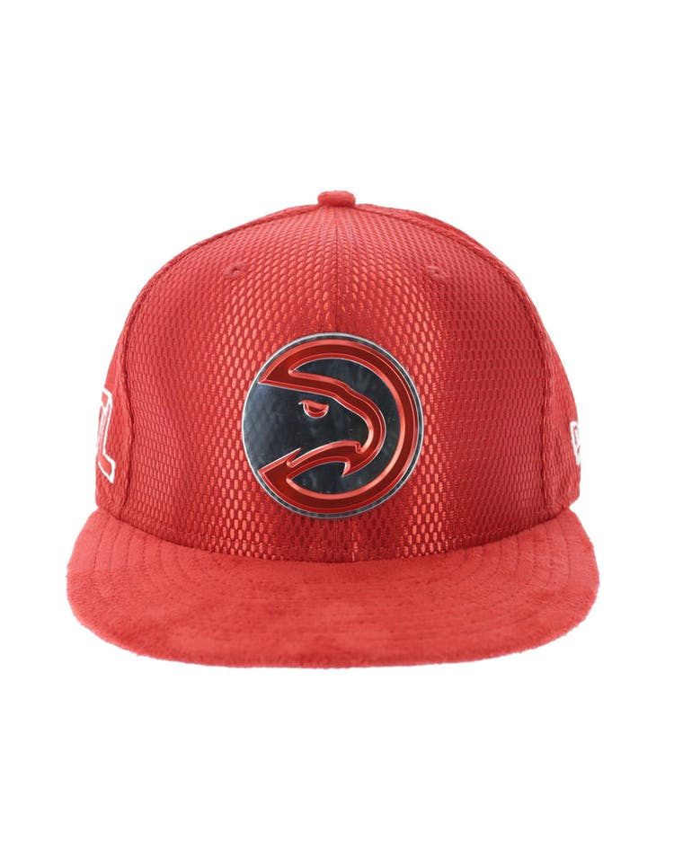 the best attitude e9196 35ce5 New Era Atlanta Hawks 9FIFTY On-Court Collection Draft Snapback Red – Culture  Kings