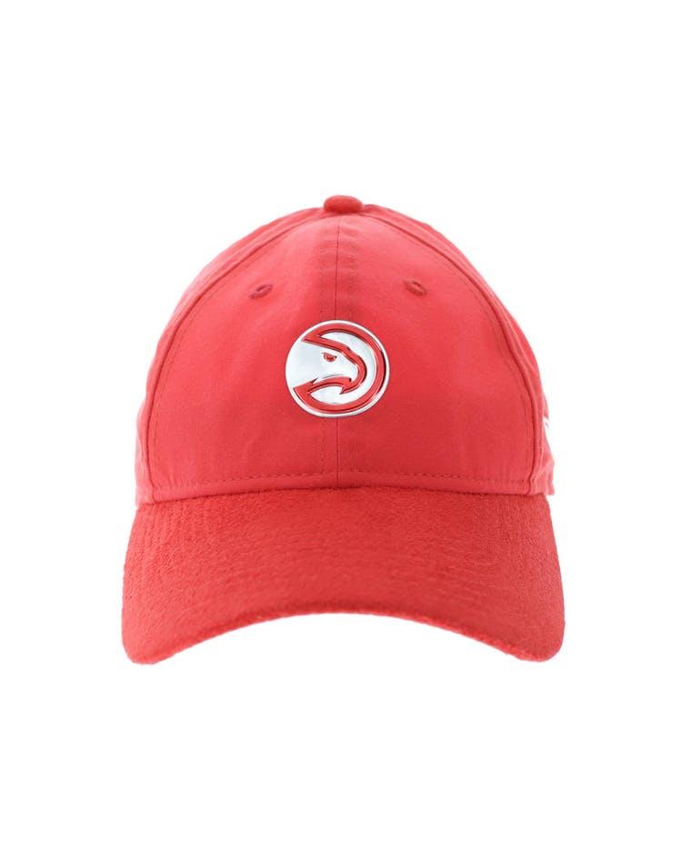 the best attitude 48e5d 06ea4 New Era Atlanta Hawks 920 Strapback Red – Culture Kings
