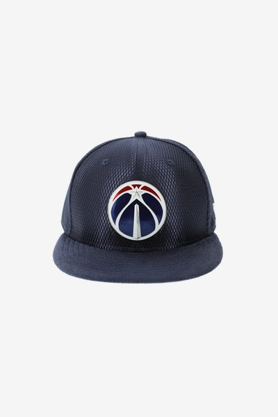 New Era Washington Wizards 5950 On-Court Collection Draft Navy