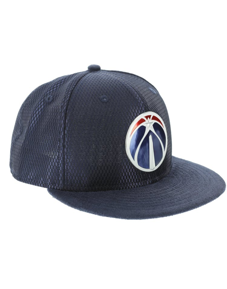 New Era Washington Wizards 59FIFTY On-Court Collection Draft Navy