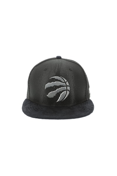 New Era Toronto Raptors 5950 Fitted On-Court Collection Draft Black
