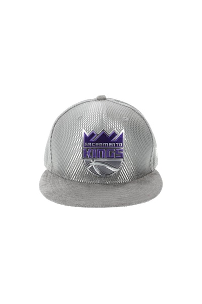 New Era Sacramento Kings 5950 On-Court Collection Draft Grey
