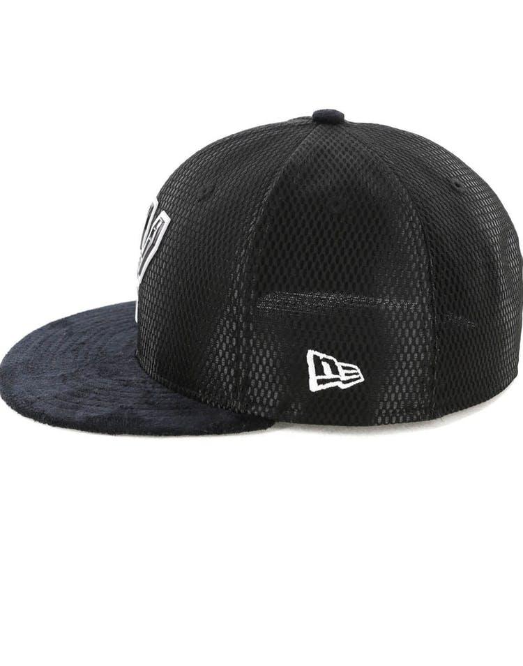 sale retailer 8ee90 b0003 New Era San Antonio Spurs 59FIFTY On-Court Collection Draft Black