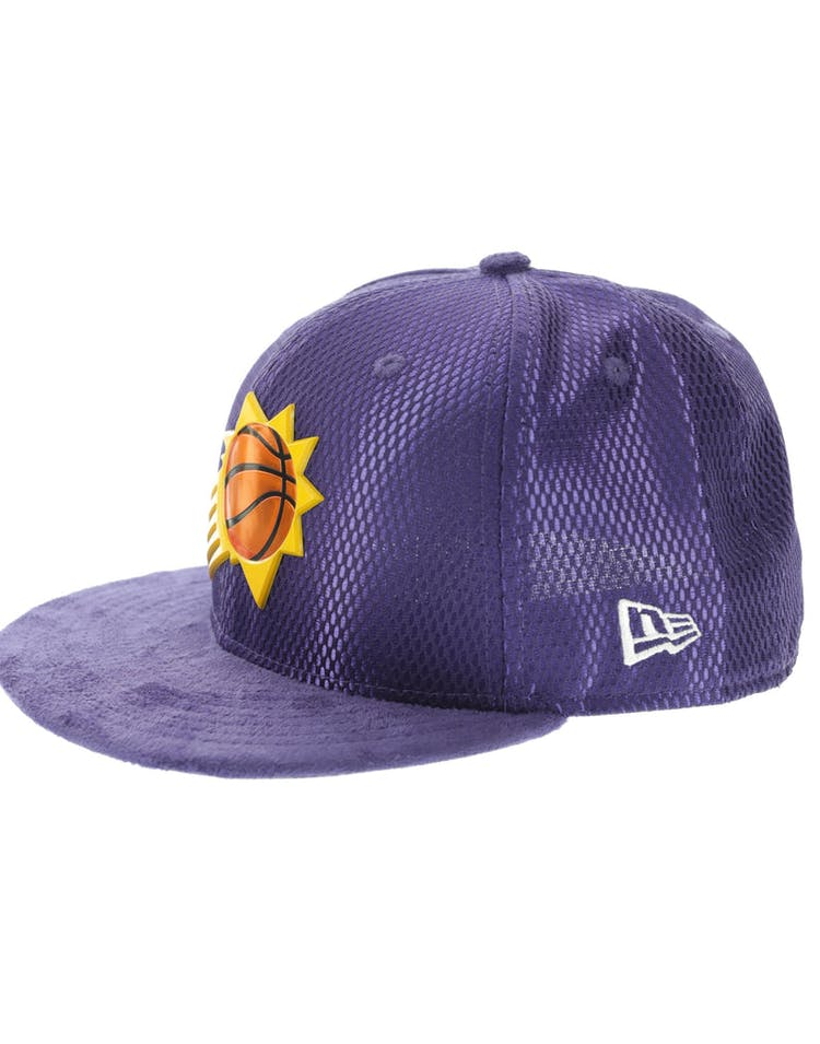official photos 05d55 a5eca New Era Phoenix Suns 59FIFTY Fitted On-Court Collection Draft Royal