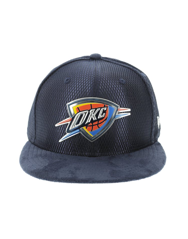 check out 8ad6f 26012 New Era Oklahoma City Thunder 59FIFTY On-Court Collection Draft Navy –  Culture Kings
