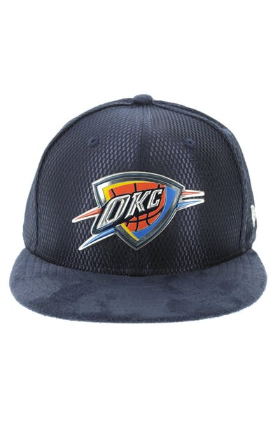 new arrival e0460 58ded New Era Oklahoma City Thunder 59FIFTY On-Court Collection Draft Navy