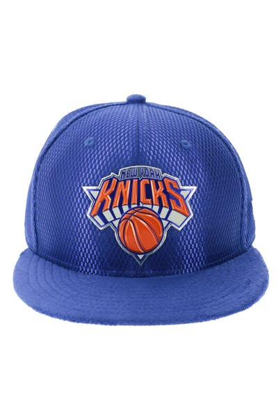 detailed look d9e9a a9889 New Era New York Knicks 59FIFTY On-Court Collection Draft Royal