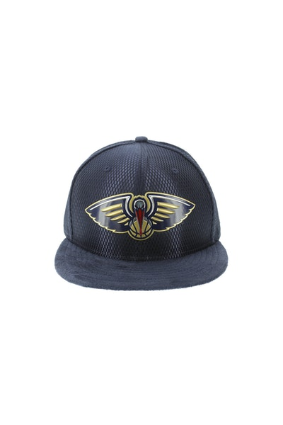 New Era New Orleans Pelicans 5950 On-Court Collection Draft Navy