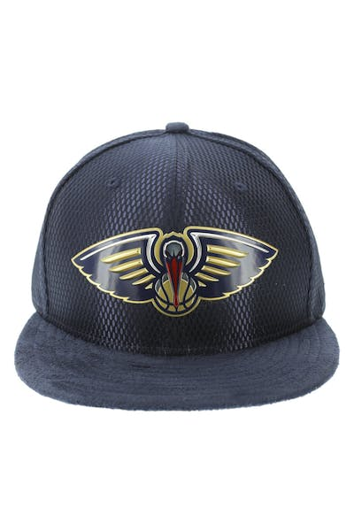 New Era New Orleans Pelicans 59FIFTY On-Court Collection Draft Navy