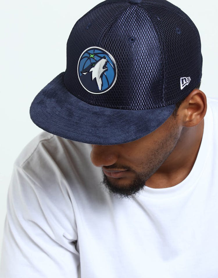 official photos 0e2fb a9cc7 New Era Minnesota Timberwolves 59Fifty Fitted Navy – Culture Kings