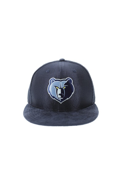 New Era Memphis Grizzlies 5950 On-Court Collection Draft Navy