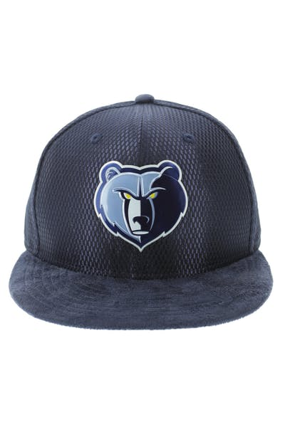 New Era Memphis Grizzlies 59FIFTY On-Court Collection Draft Navy