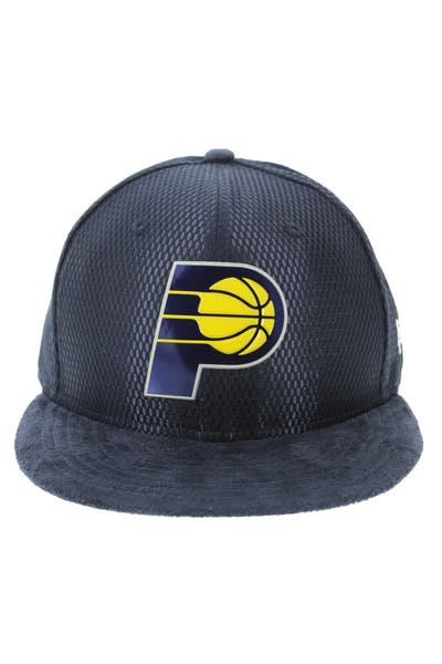 New Era Indiana Pacers 59FIFTY Fitted On-Court Collection Draft Navy