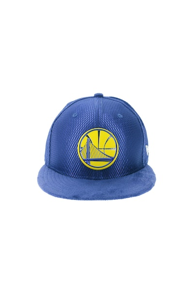 New Era Golden State Warriors 5950 Fitted On-Court Collection Draft Royal