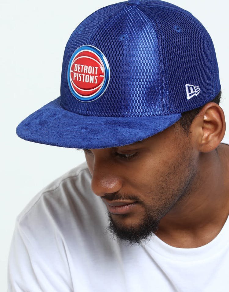 new arrival 62e5a 869ca New Era Detroit Pistons 59Fifty Fitted Royal