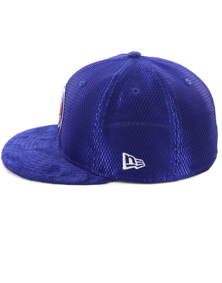 5f8f18d0b New Era Detroit Pistons 59Fifty Fitted Royal