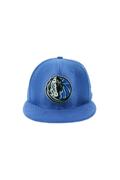 New Era Dallas Mavericks 5950 On-Court Collection Draft Royal