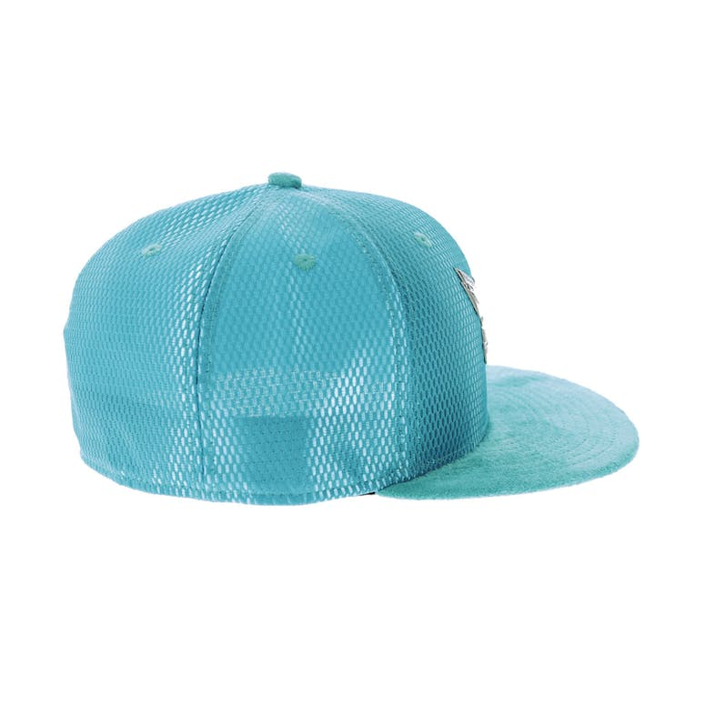 low priced 84b1b 26904 New Era Charlotte Hornets 59FIFTY On-Court Collection Draft Teal
