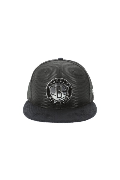 New Era Brooklyn Nets 5950 Fitted On-Court Collection Draft Black