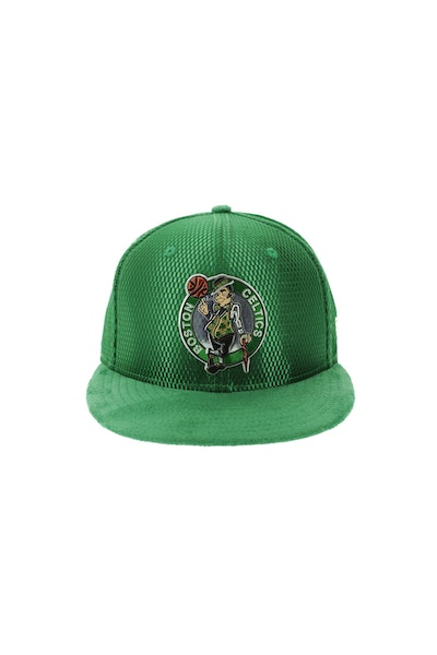 New Era Boston Celtics 5950 On-Court Collection Draft Green