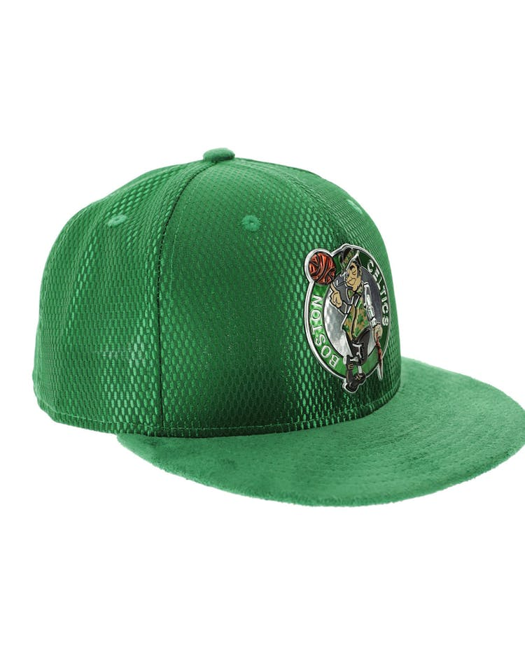 best sneakers 9af5b f574d New Era Boston Celtics 59FIFTY On-Court Collection Draft Green – Culture  Kings