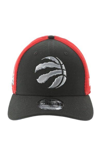 brand new a705b 26194 New Era Toronto Raptors Logo 3930 Black