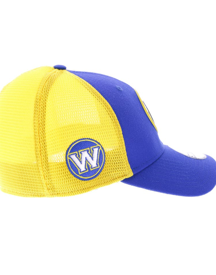 superior quality e595d 6a0a9 New Era Golden State Warriors Logo 3930 Fitted Royal