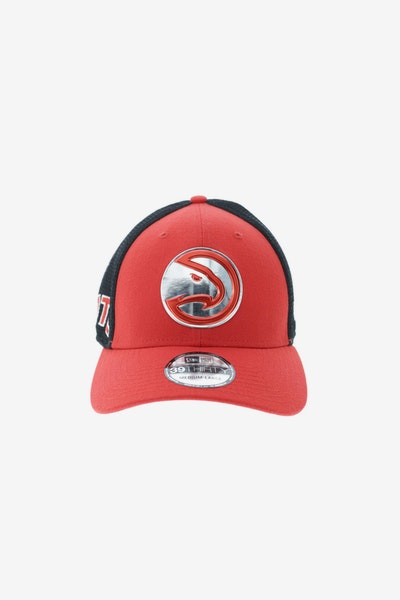 New Era Atlanta Hawks Logo 3930 Fitted Red