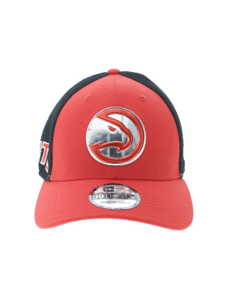 best website 4e31b 2b941 New Era Atlanta Hawks Logo 3930 Fitted Red – Culture Kings