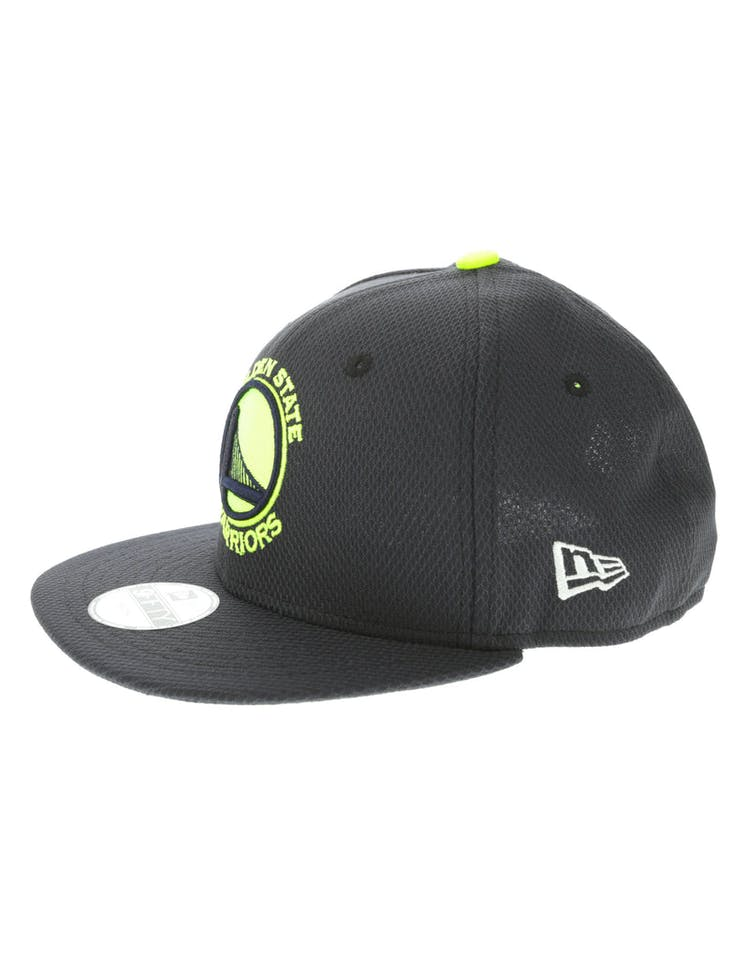 3fb59a1f New Era Golden State Warriors Youth Neon Pop 9FIFTY Snapback Navy ...