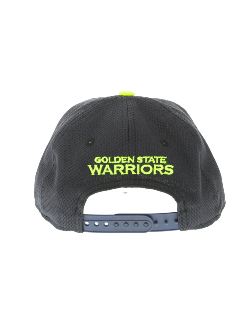 New Era Golden State Warriors Youth Neon Pop 9FIFTY Snapback Navy