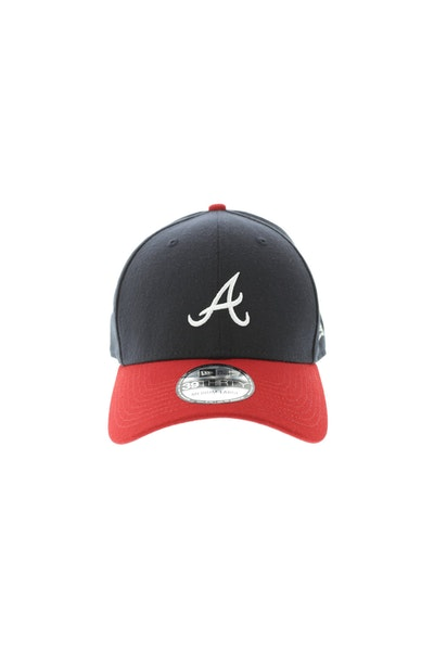 New Era Women's Atlanta Braves 3930 Navy/Red