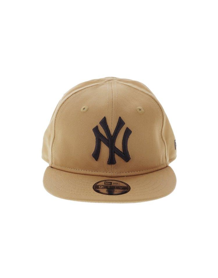 be85613bb593d5 New Era My 1st New York Yankees 9FIFTY Snapback Wheat – Culture Kings