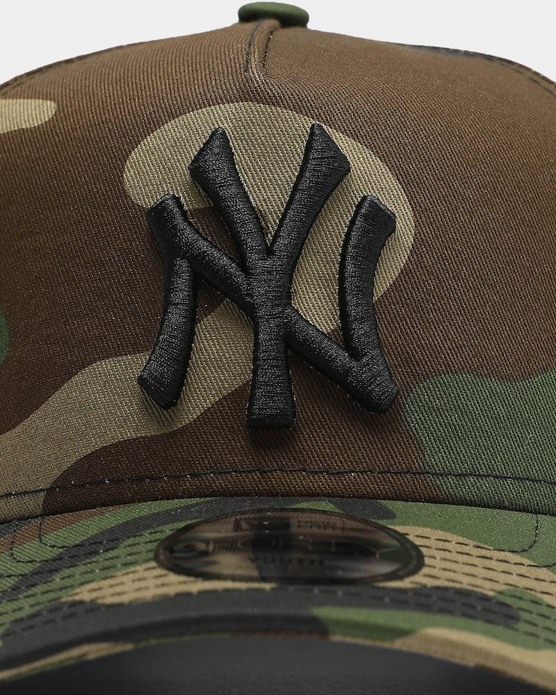 New Era Youth New York Yankees 9FORTY A-Frame Snapback Camo