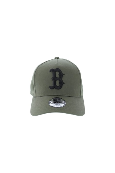 New Era Youth Boston Red Sox A-Frame Snapback Olive