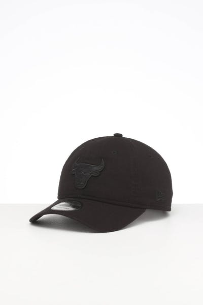 NEW ERA CHICAGO BULLS 9TWENTY STRAPBACK BLACK/BLACK