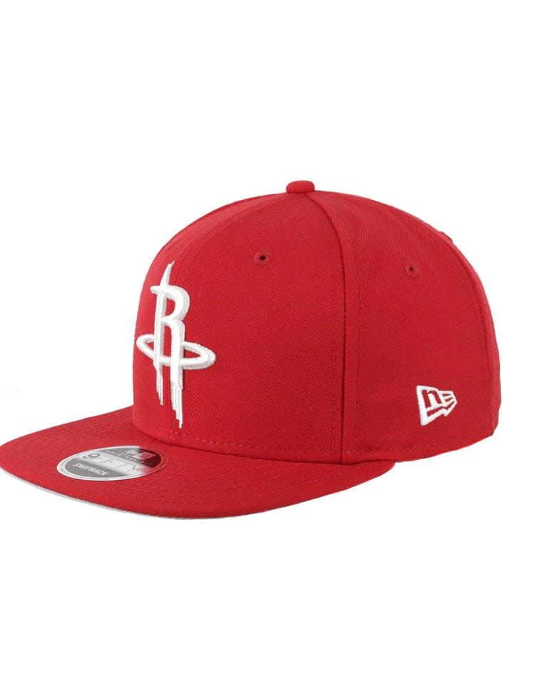 sports shoes 8f7fa 15b42 New Era Houston Rockets Original Fit 9FIFTY Snapback Red – Culture Kings